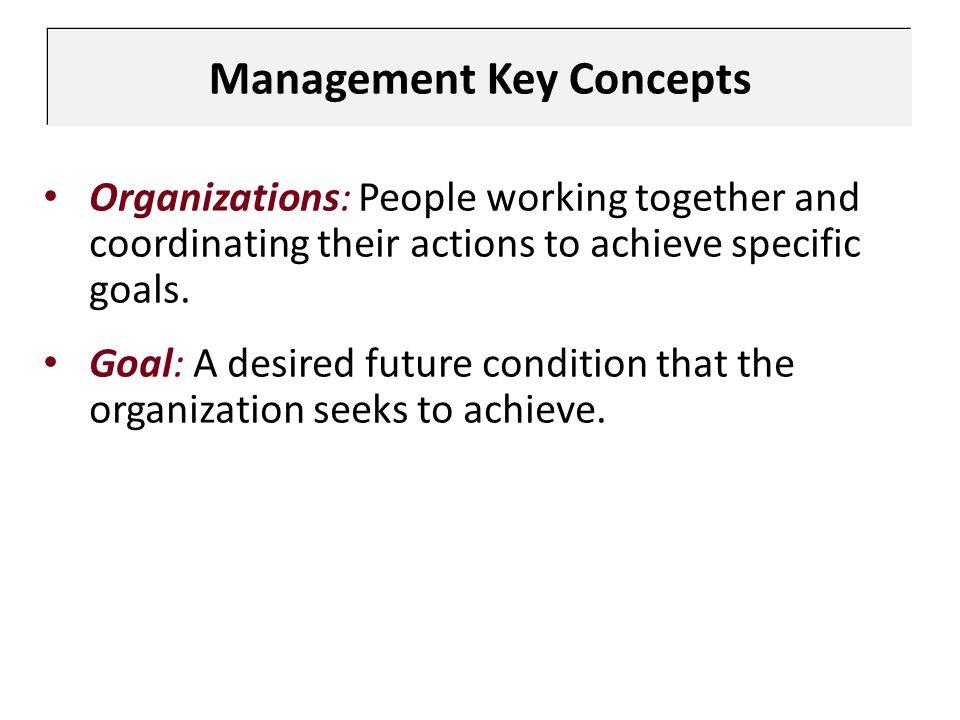 Management Key Concepts