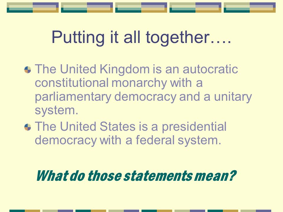 effectiveness of the presidential system in the united states Desribe the strengths and weakness of the presidential system of government in the united states when compared to the parliamentary system used in countries like the united kingdom desribe the.