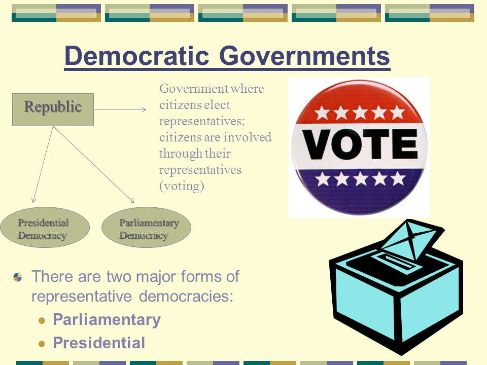 """presidential form of democracy """"functioning of parliamentary democracy in india"""" by shri pa sangma parliamentary democracy as distinguished from presidential democracy our constitution provides for parliamentary form of government."""