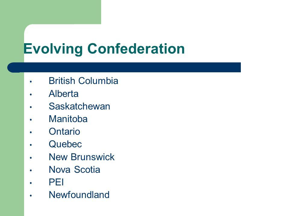 British columbia confederation essay