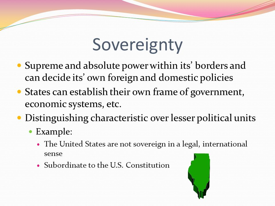 "Essay on ""Sovereignty"" (According to Hobbes)"