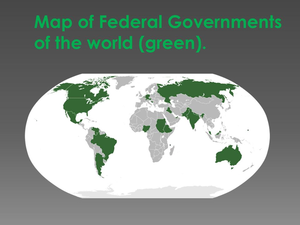GOVERNMENT SYSTEMS and TYPES Oligarchy Control Dictatorship