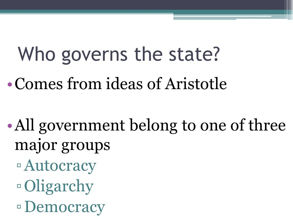 aristotles constitutional state Aristotle treats kingship and aristocracy as an ideal constitution run by morally  and practically virtuous people and aiming at the development and exercise of.
