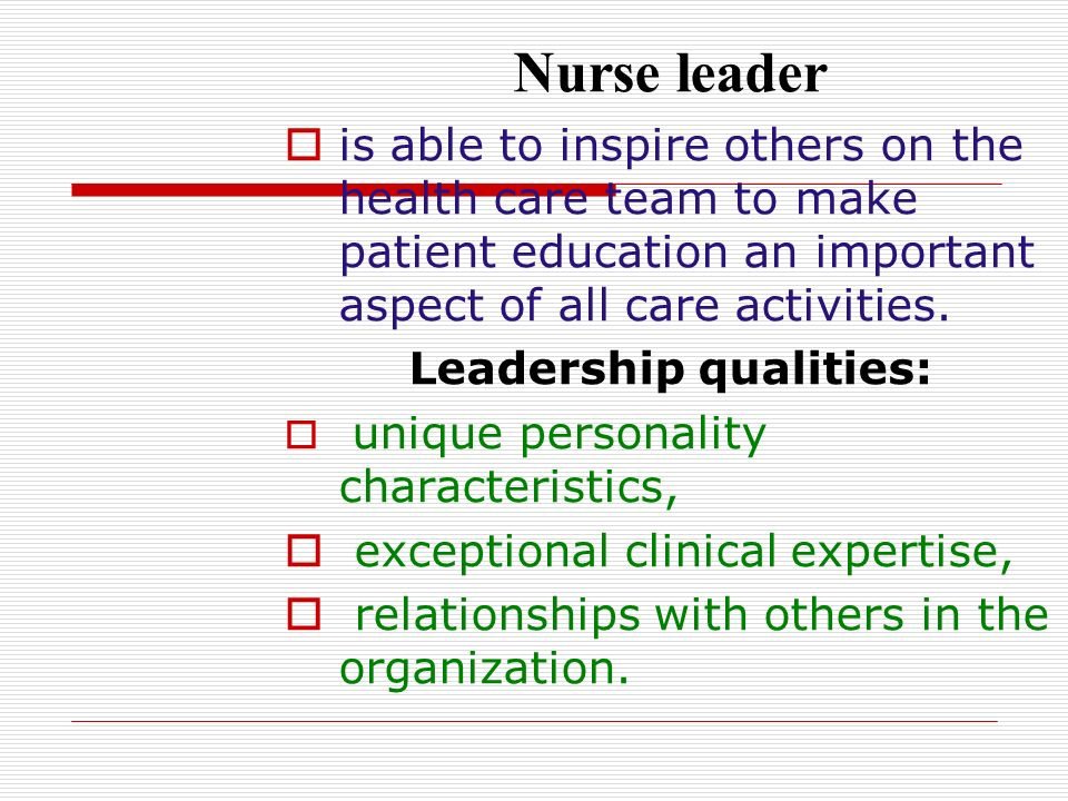 the importance of management and leadership skills in nursing Why communication in nursing is important without effective communication skills, serious errors that may cost patients their lives can occur according to stat , poor communication was a factor in 1,744 deaths of malpractice cases that crico strategies , a patient safety organization, examined over a five-year period.