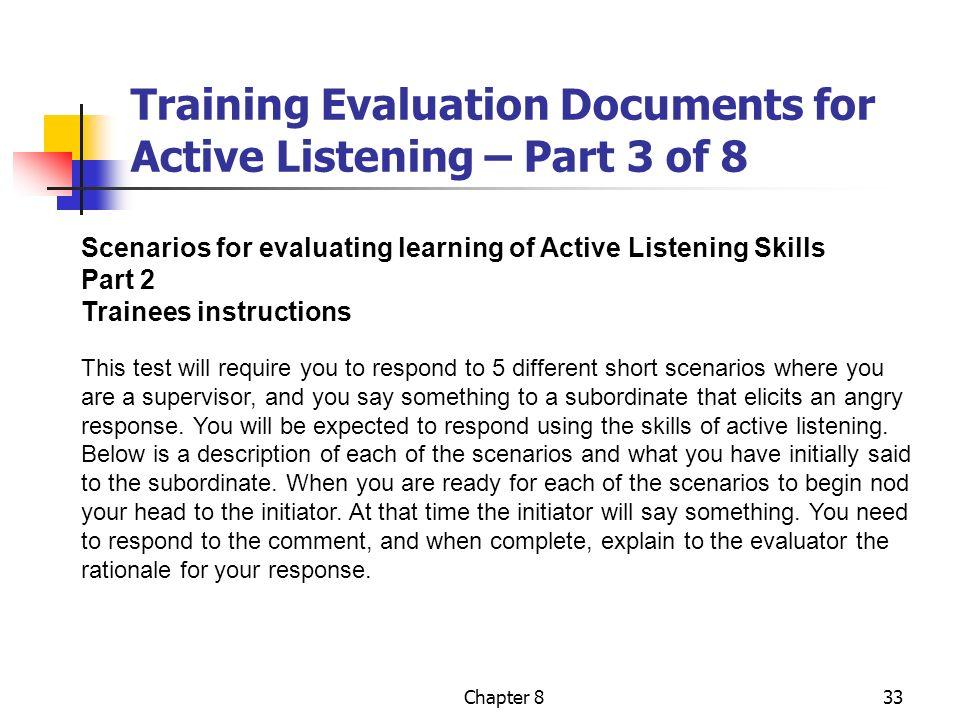 Evaluation Of Training Chapter Nine 9 Ppt Video Online