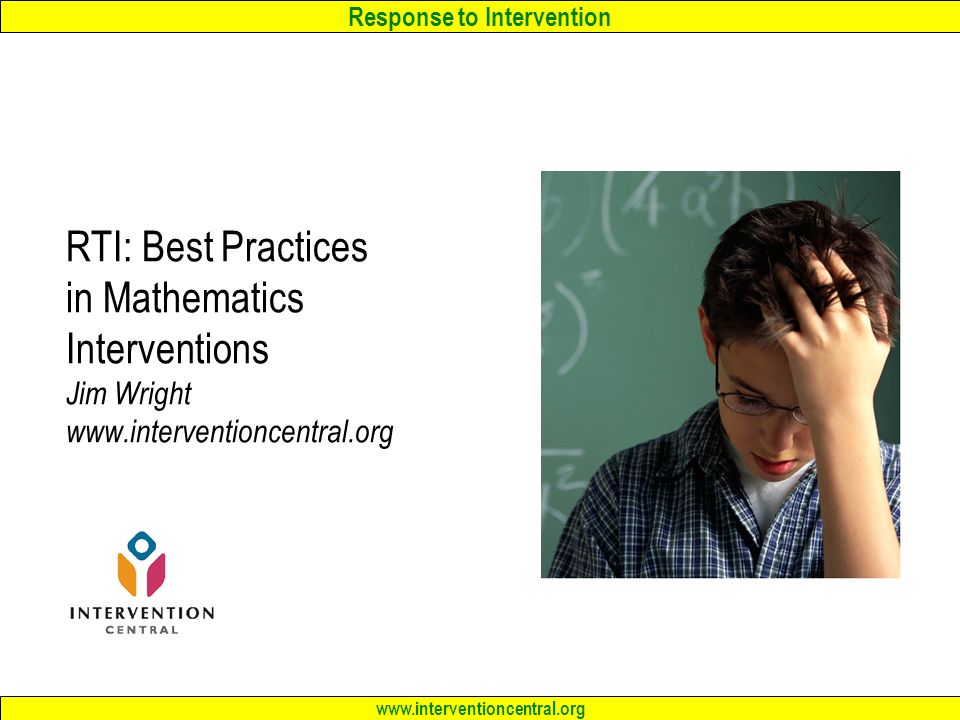 RTI: Academic Interventions for Difficult-to-Teach Students Jim ...