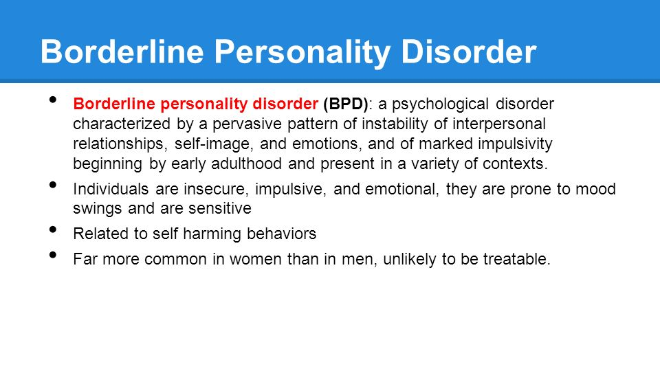 a research on measuring the correlation of bipolar personality disorder bpd symptoms in couples The difference in the diagnosis of bipolar i and a research on measuring the correlation of bipolar personality disorder (bpd) symptoms in couples.