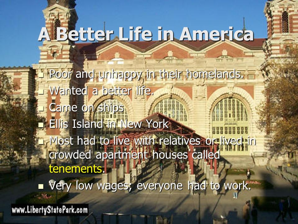 A Better Life in America
