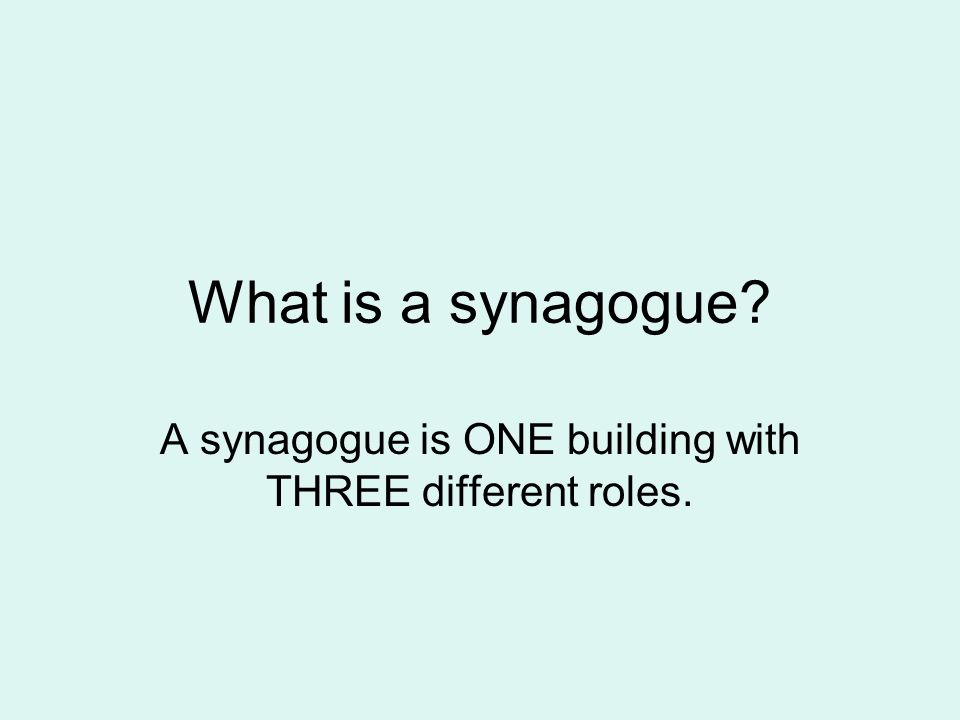 roles of the synagogue essay A discussion of the leadership roles in judaism what are the important leadership roles in the community the united synagogue of great britain.