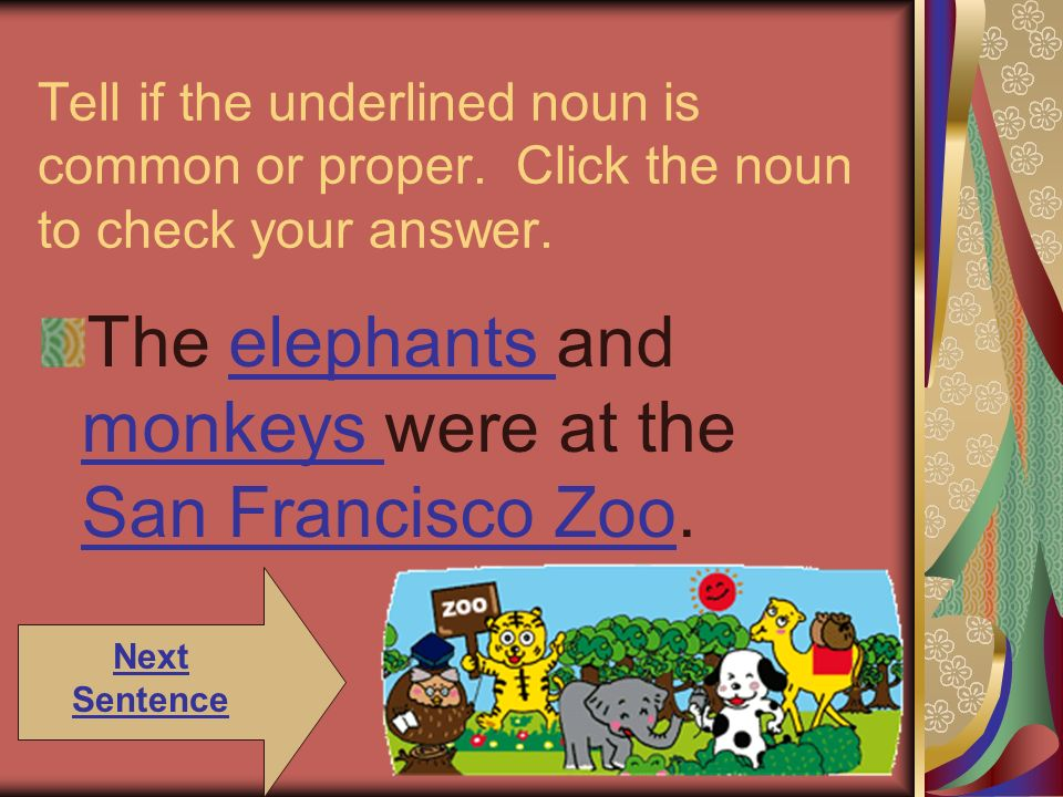 The elephants and monkeys were at the San Francisco Zoo.