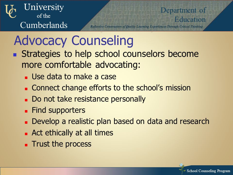 how to develop an advocacy strategy