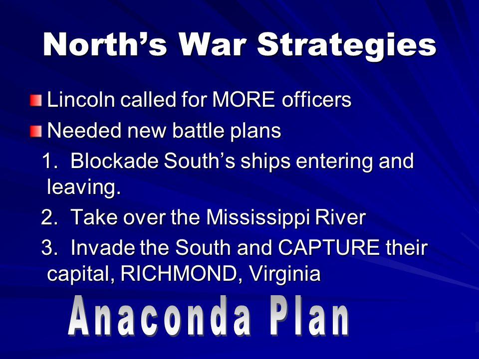 North's War Strategies