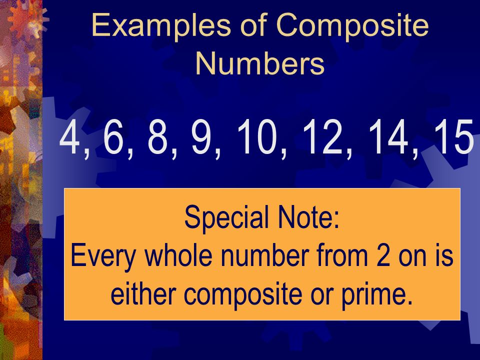 Examples of Composite Numbers