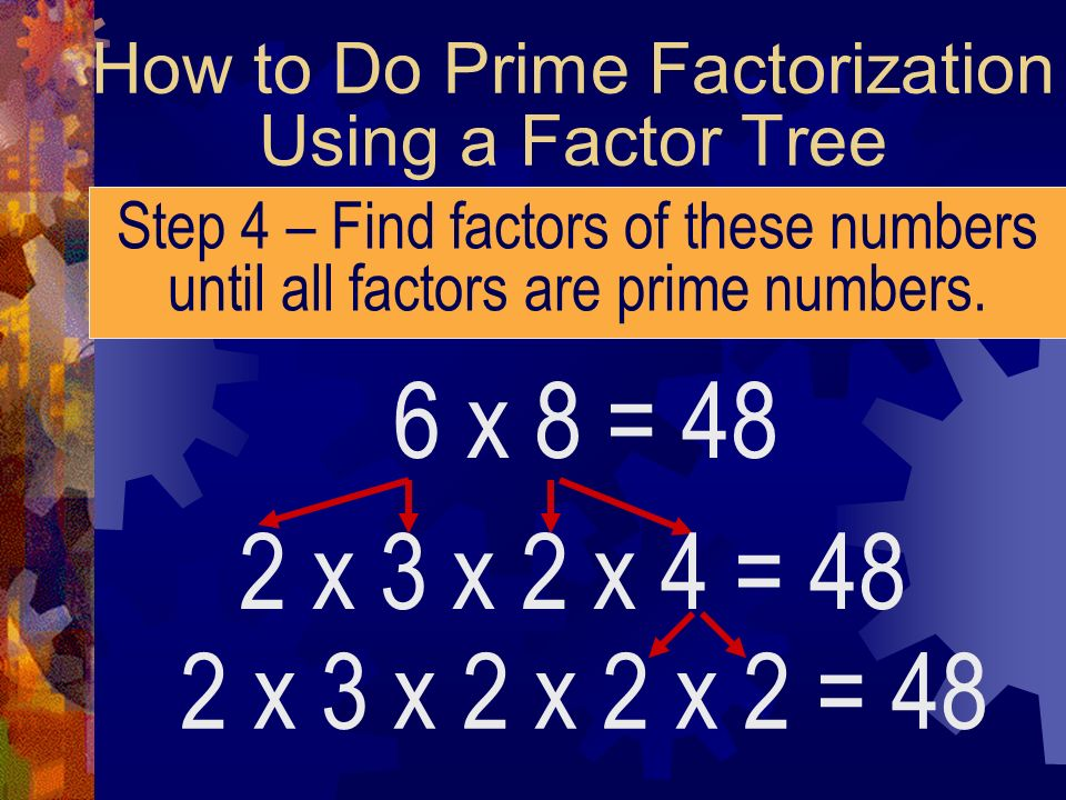 How to Do Prime Factorization Using a Factor Tree