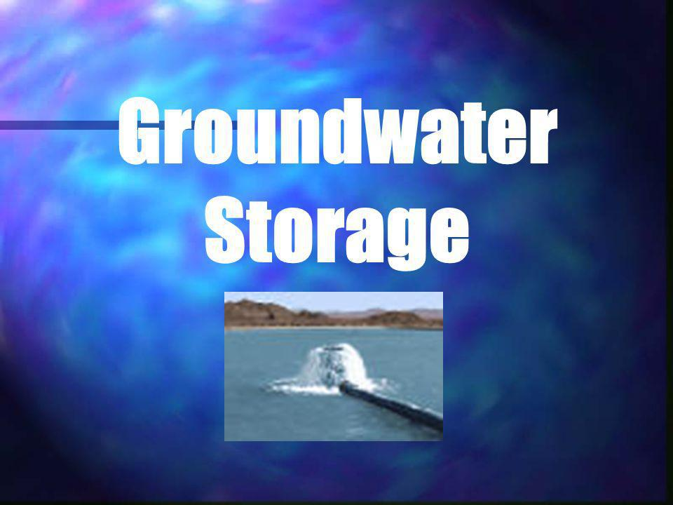 Groundwater Storage