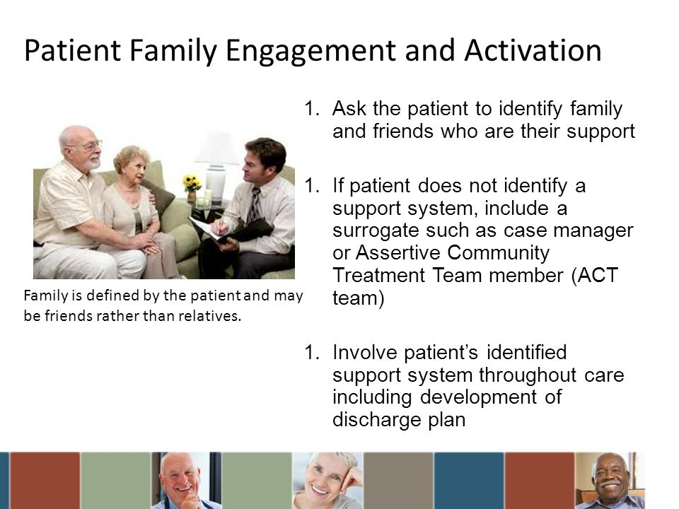 Patient Family Engagement and Activation