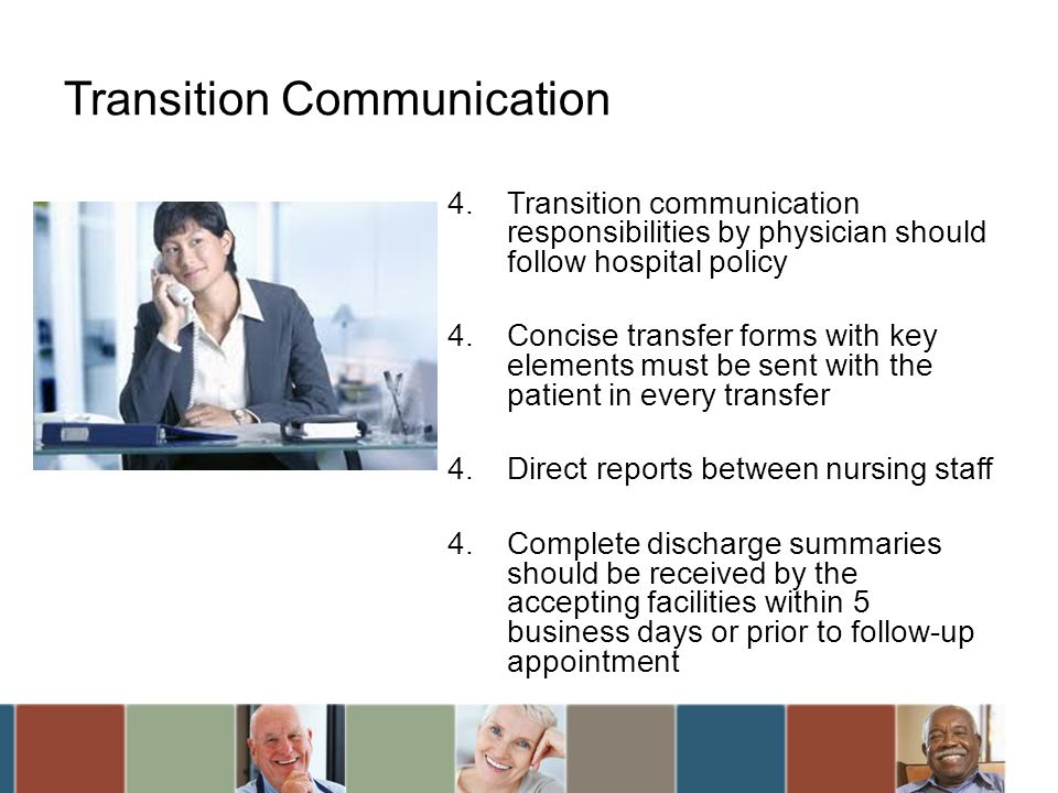 Transition Communication