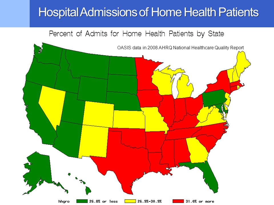 Hospital Admissions of Home Health Patients