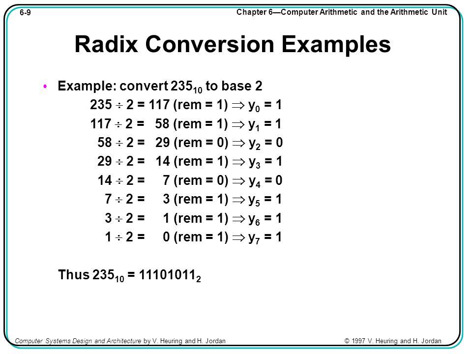 Radix Conversion - numberworld.org