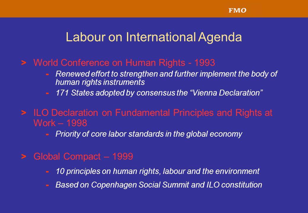 Labour on International Agenda