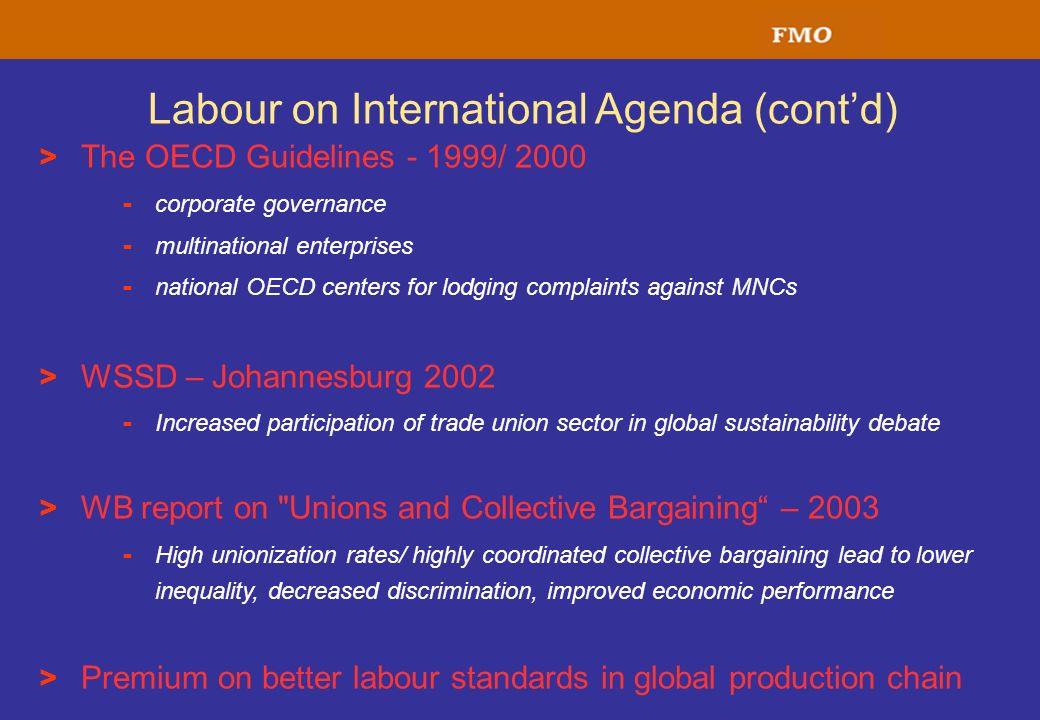 Labour on International Agenda (cont'd)