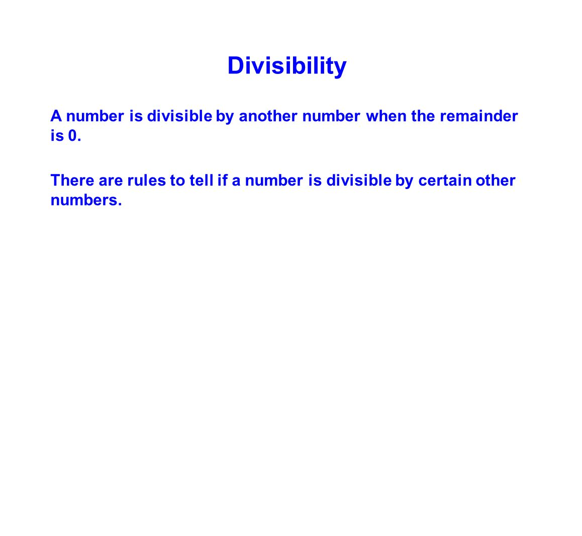 worksheet 5th Grade Division 5th grade division mrs berish ppt video online download 6 divisibility