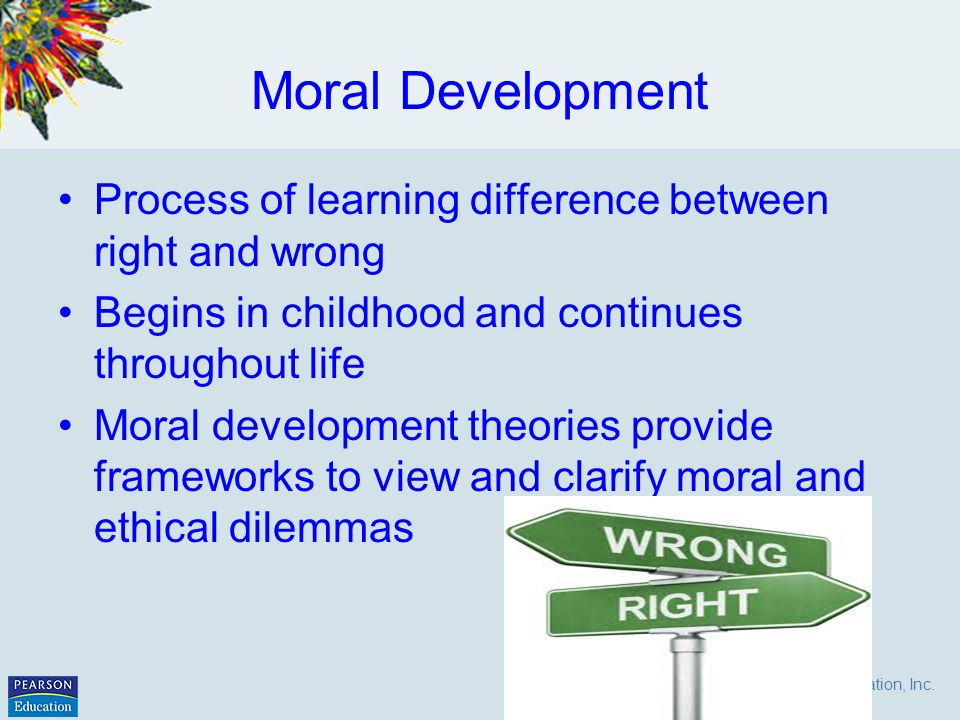 moral development values and religion Existential/spiritual development personal values, religion & spiritual experiences module 11-2 what are values • beliefs & attitudes about the way things should.