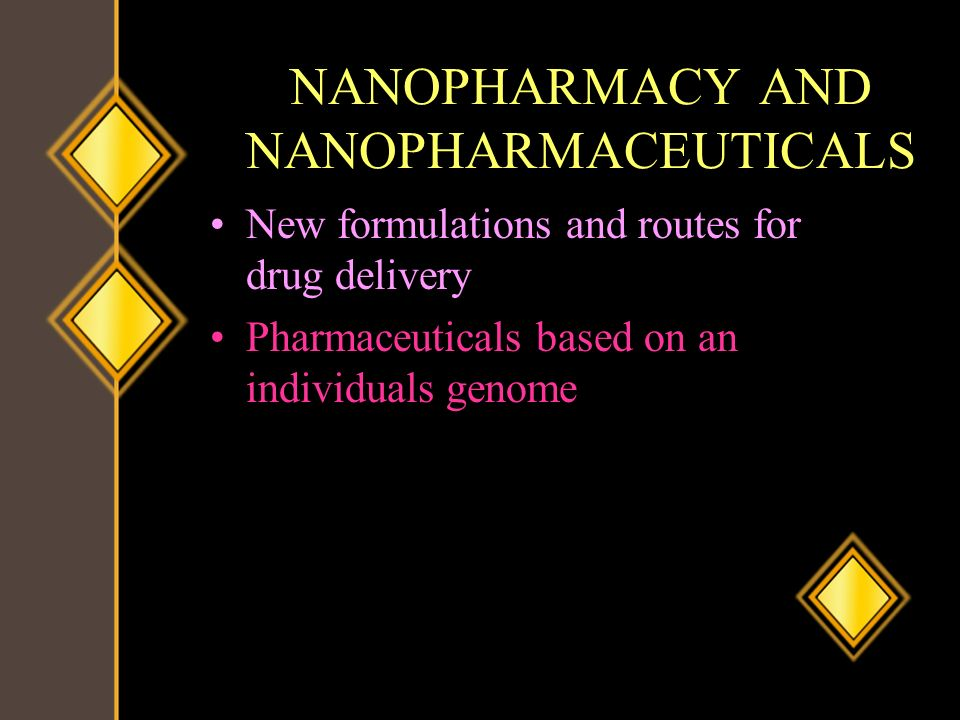 NANOPHARMACY AND NANOPHARMACEUTICALS