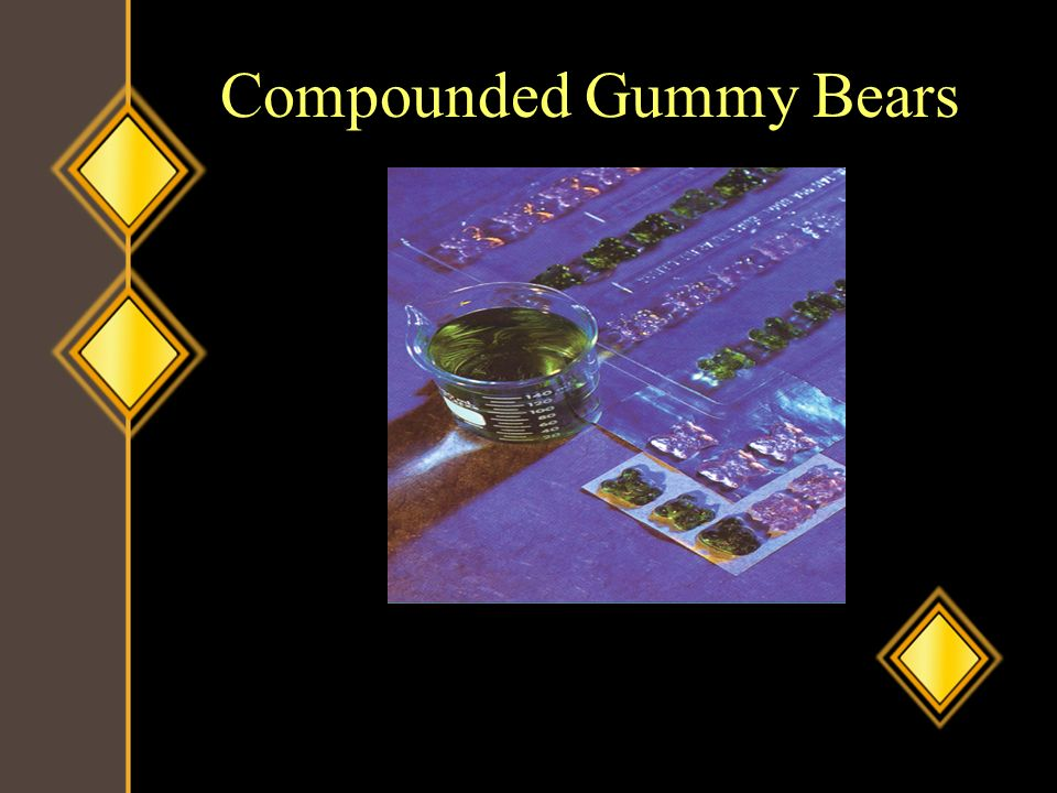Compounded Gummy Bears