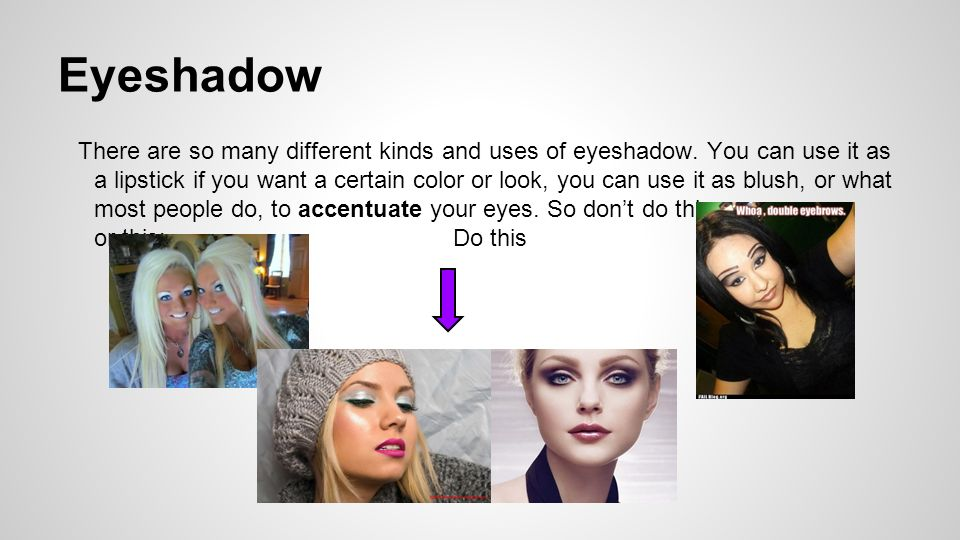 And what makeup artists do - ppt video online download