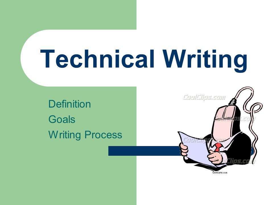 technical writing and creative writing