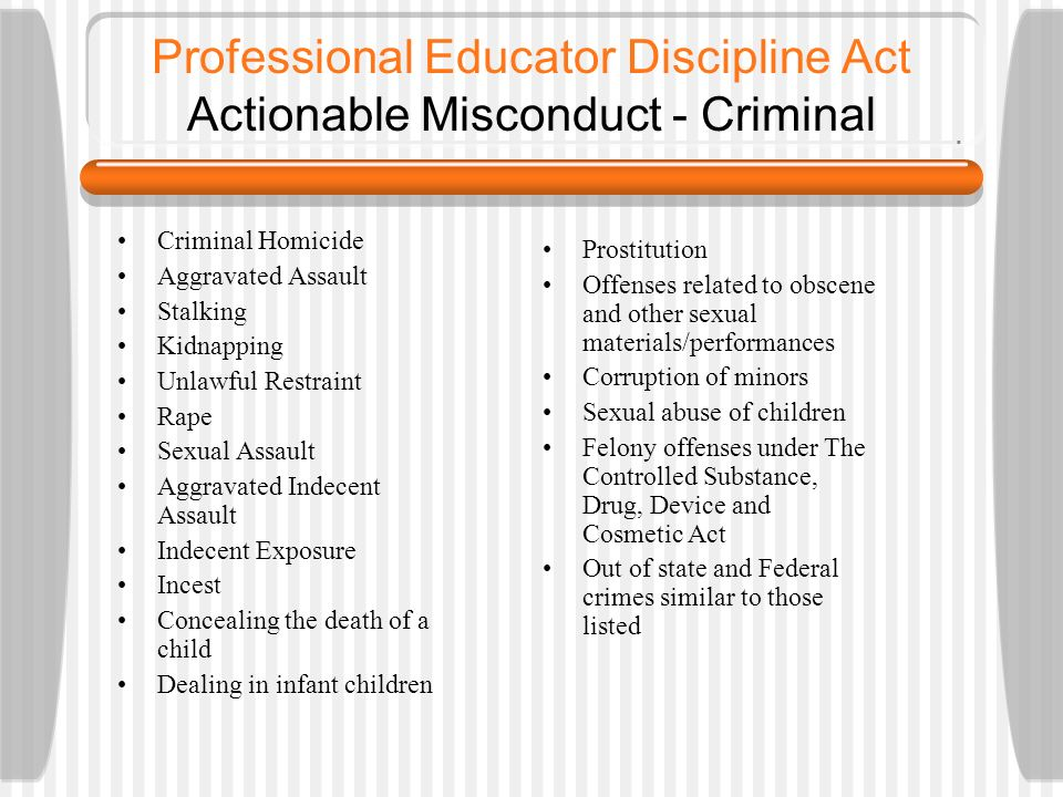 professional misconduct Professional misconduct definition: a violation of the rules or boundaries set by the governing body of a profession | meaning, pronunciation, translations and examples.