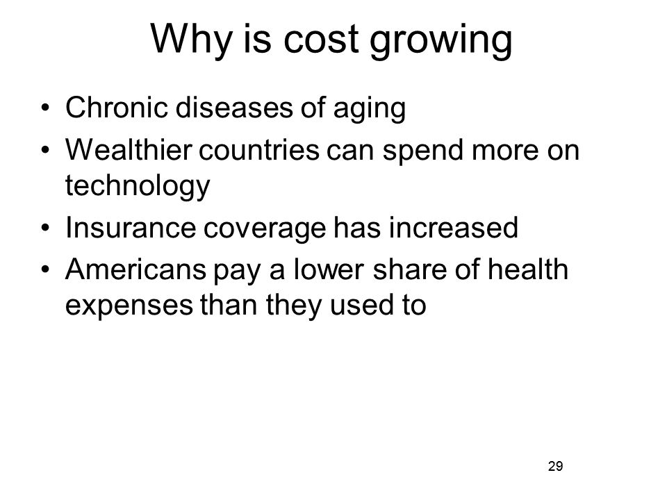 why and how will changes in the demographics of the aging population affect health care market In france as elsewhere, population aging creates new challenges for the health care system, for both controlling costs and meeting new societal demands although it goes well beyond traditional health care reform, in france long-term care has emerged as one of the most crucial social policy issues.