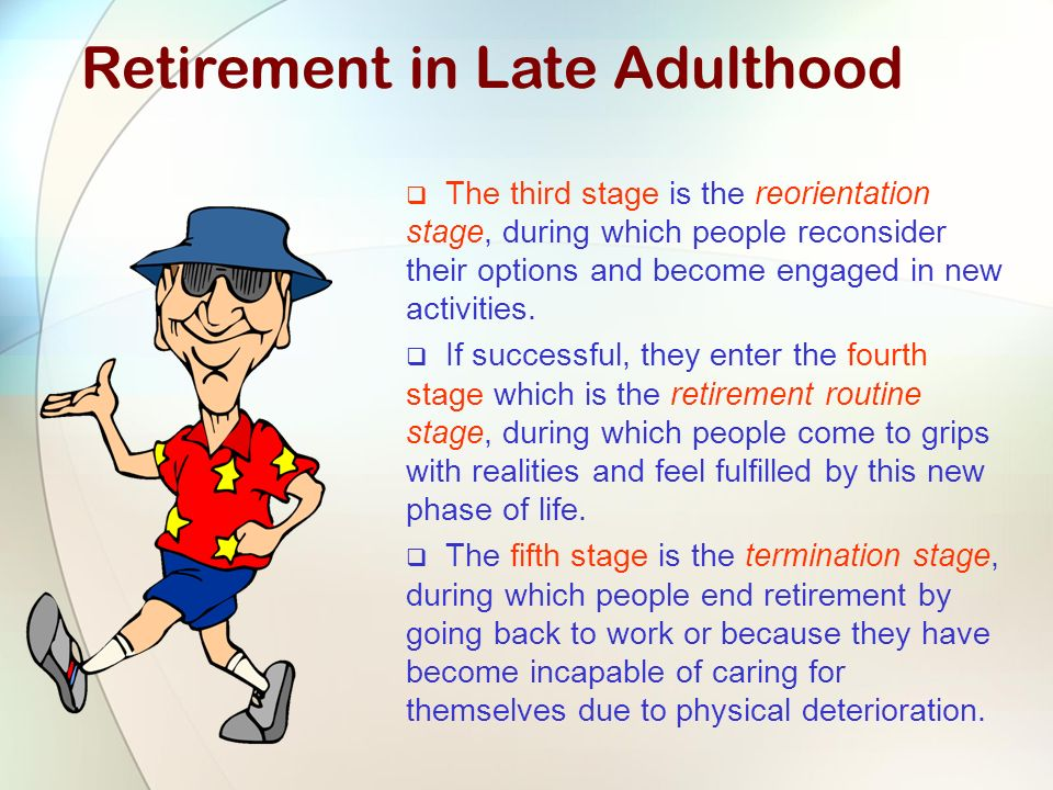 Physical cognitive and social personality of late adulthood