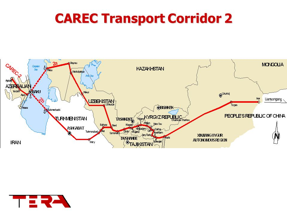 CAREC Transport Corridor 2