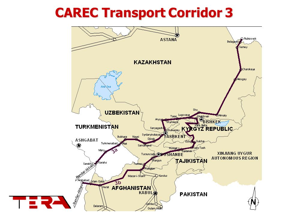 CAREC Transport Corridor 3