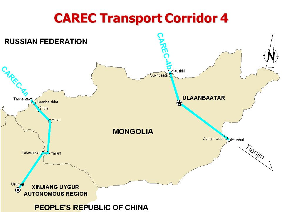 CAREC Transport Corridor 4