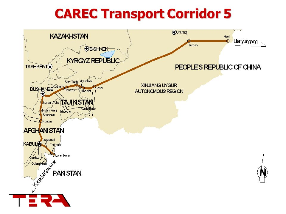CAREC Transport Corridor 5