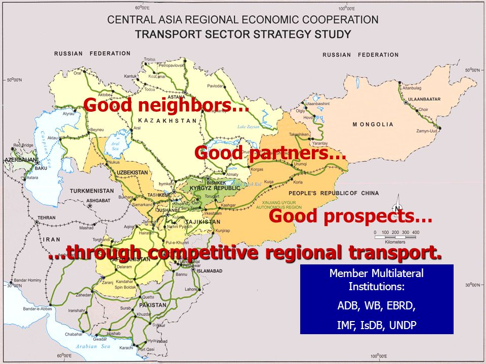…through competitive regional transport.