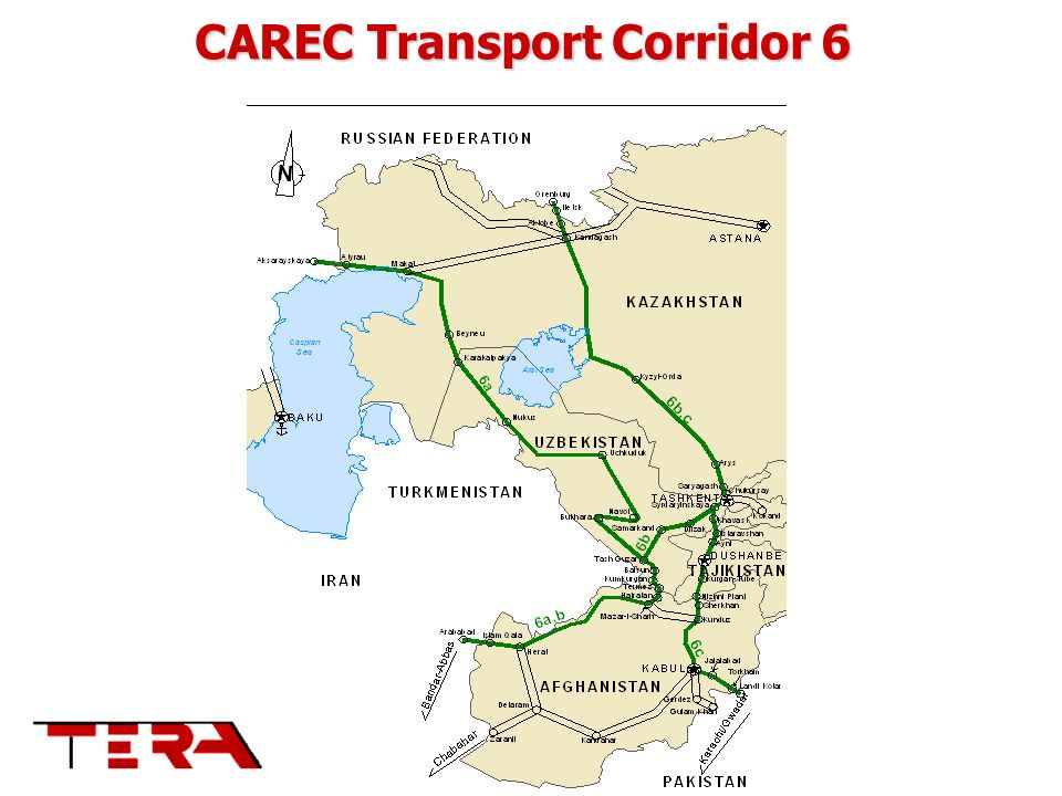 CAREC Transport Corridor 6
