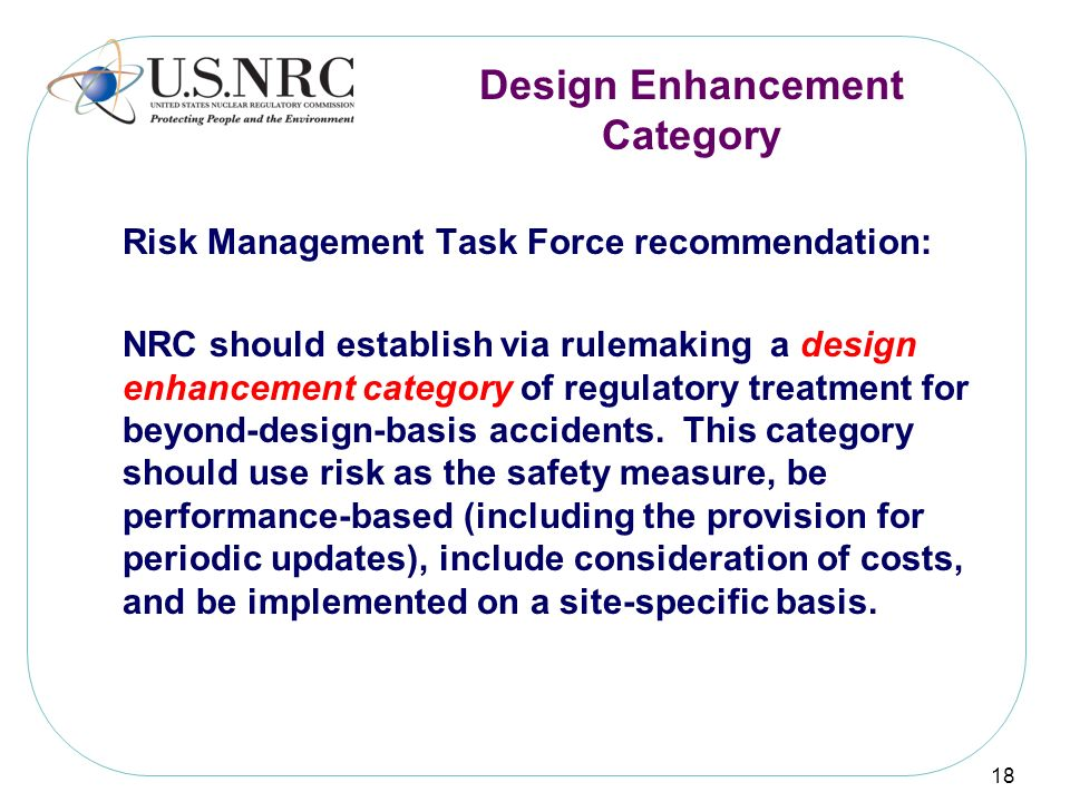 Design Enhancement Category