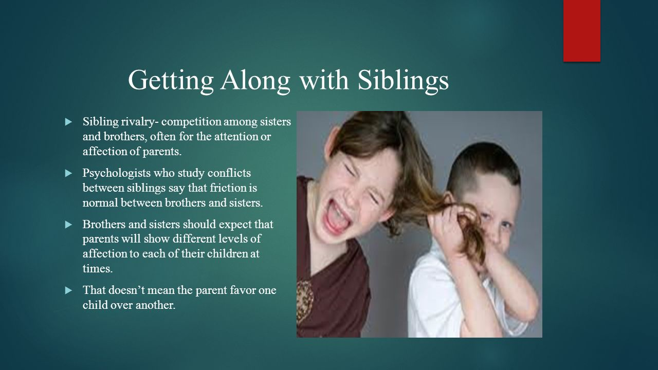 getting along with parents essay Many people say that their goal is just to get along with their parent ᅡᅠbut afterᅡᅠreflection, they may realize that their secret, underlying goal is to get a parent to apologize for.