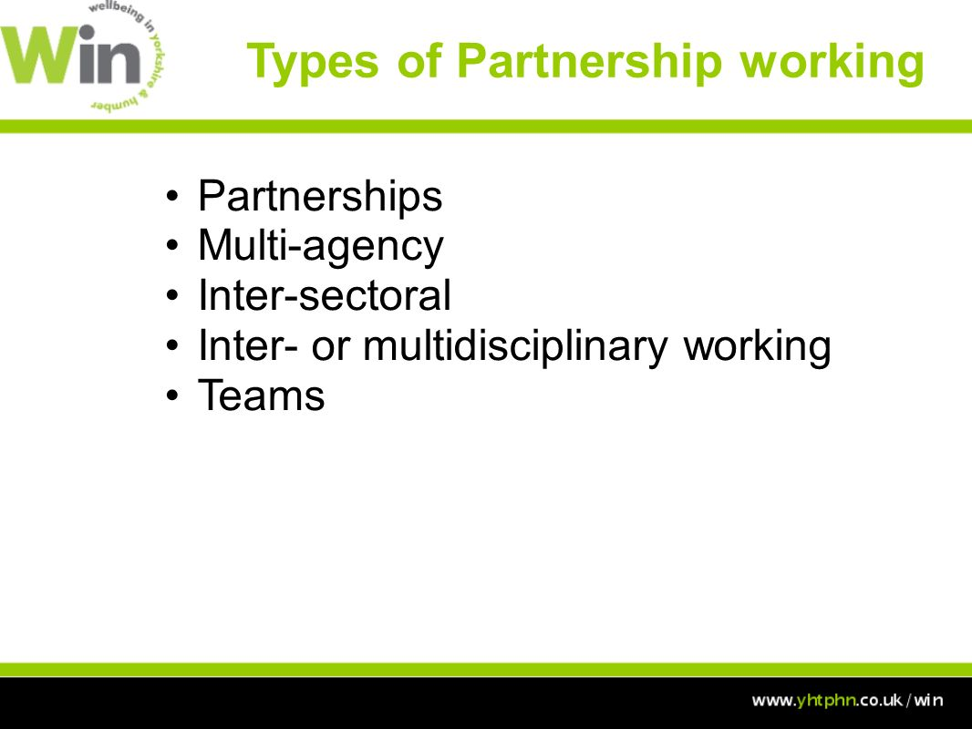 working in partnership in health in Apps definition of partnership understanding and agreeing the meaning of partnership is a key starting point for all organizations and individuals involved in apps to understand its role in the development and spread of patient safety in africa.