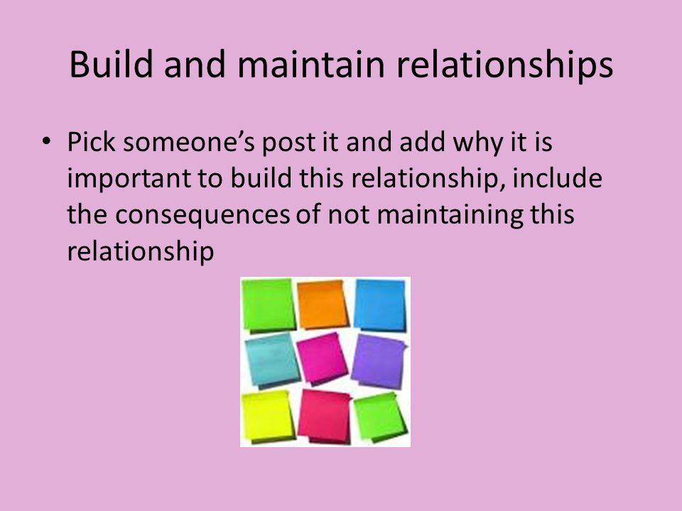 building and maintaining relationships essay Syndicate this essay  relationship scientists study how to build and maintain  strong, intimate  healthy relationships help you to live longer.