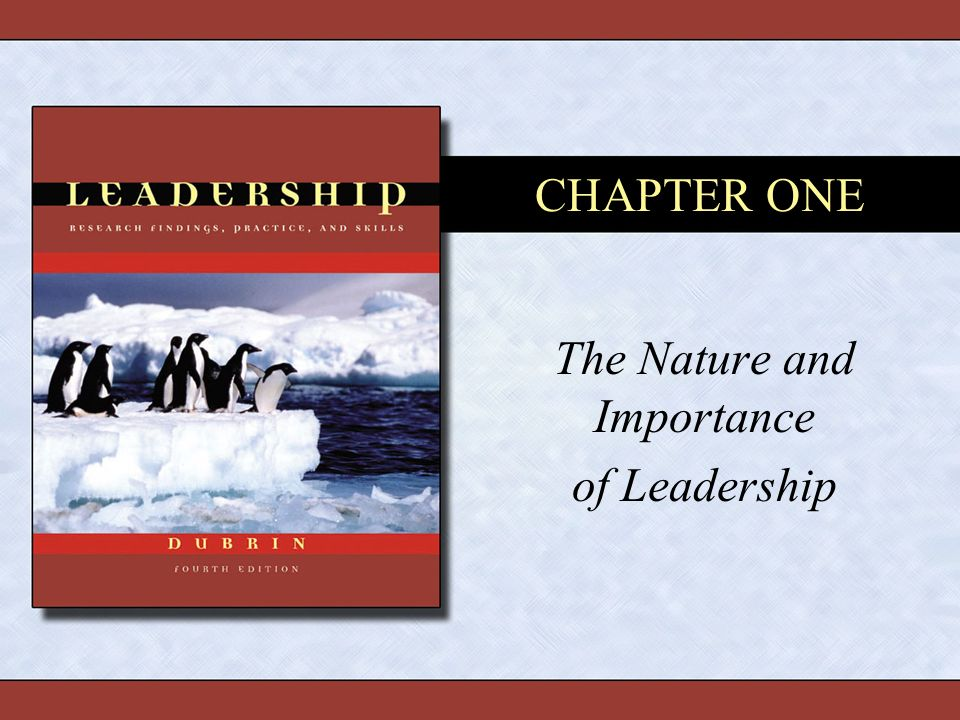 the importance of leadership traits Is charisma born or made what makes leaders charismatic.