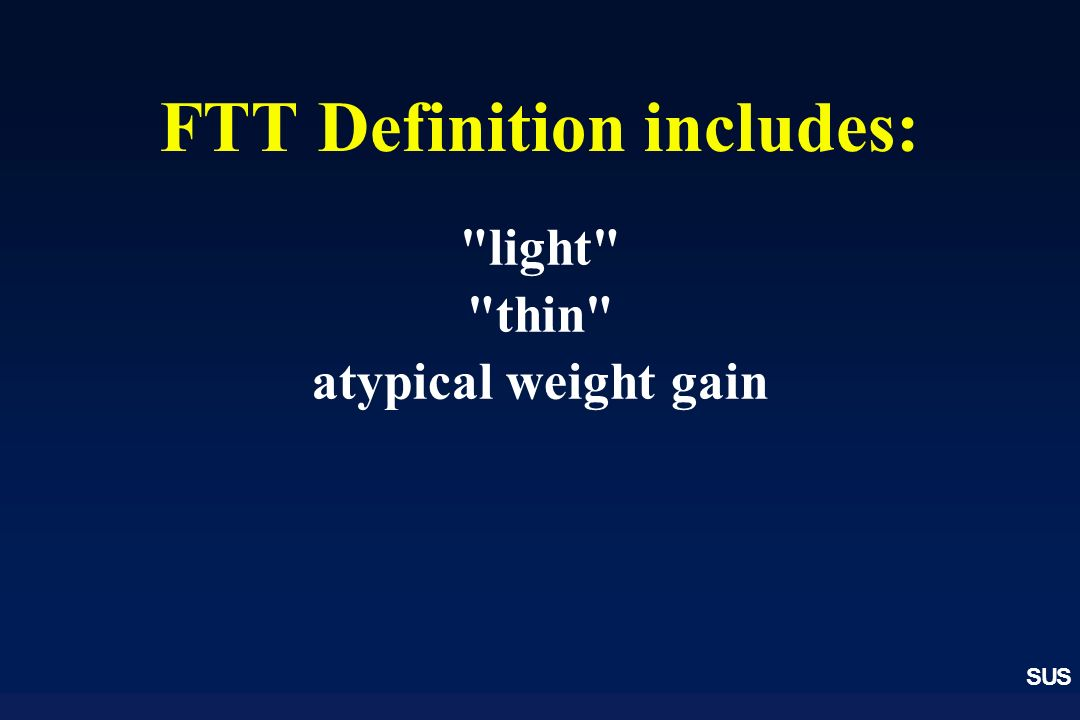 FTT Definition includes: