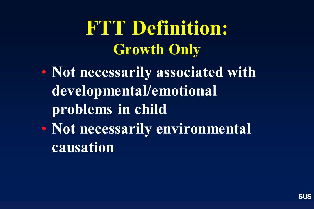 FTT Definition: Growth Only