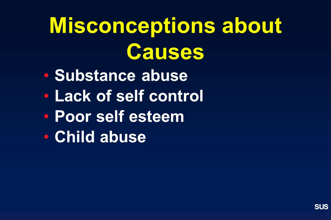 Misconceptions about Causes