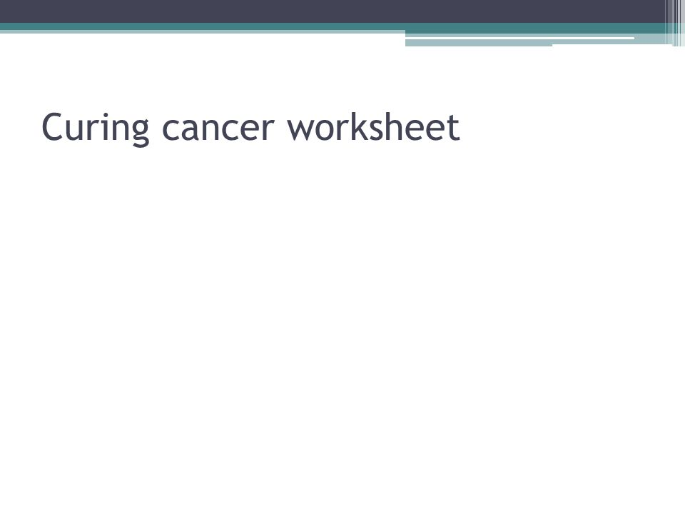 Reproduction in the cells ppt download – Cancer Worksheet