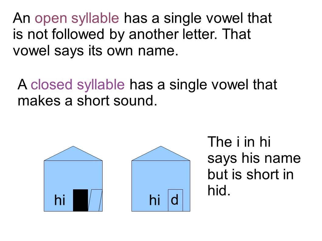worksheet Closed Syllable Worksheets lesson 9 3rd grade language arts syllabication main idea ppt an open syllable has a single vowel that is not followed by another letter that